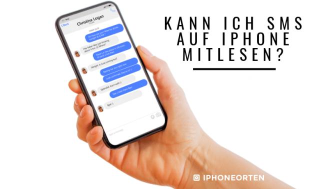 SMS auf iPhone mitlesen