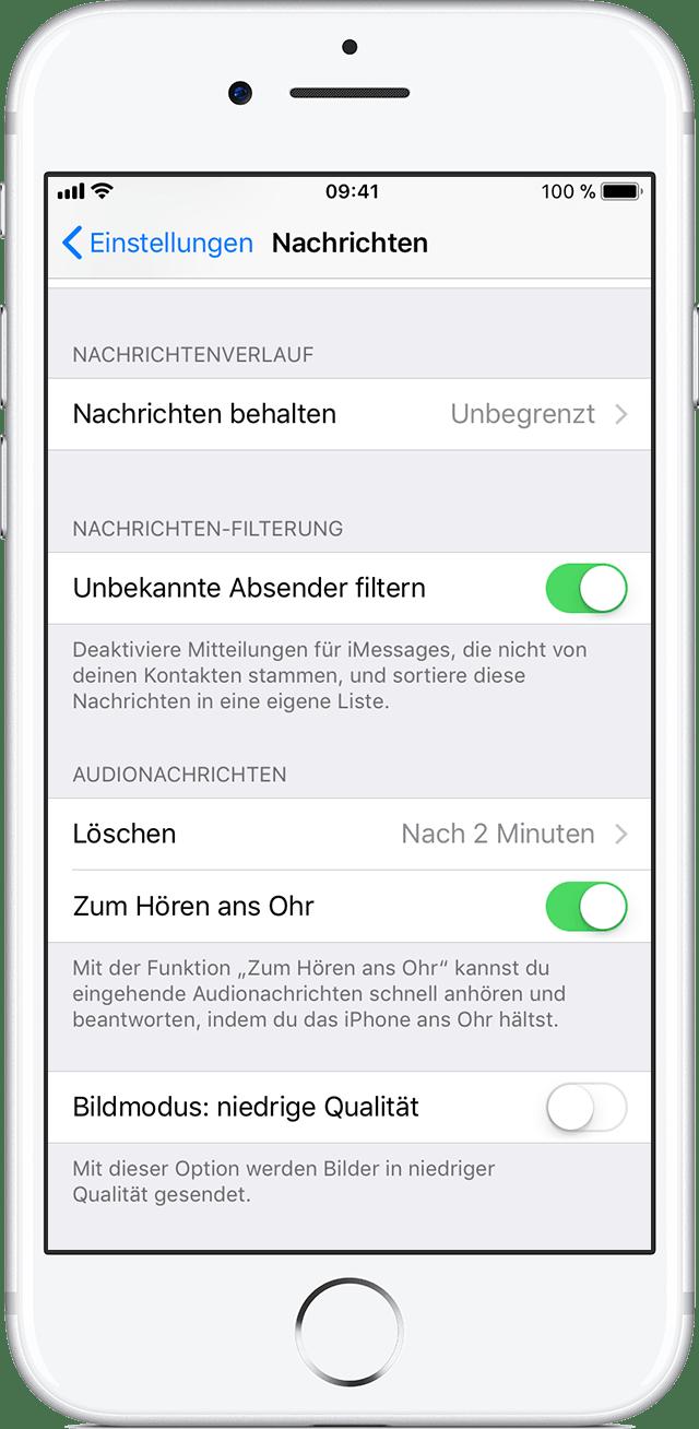 iPhone Nummer sperren