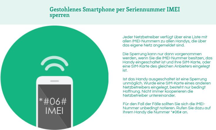 iPhone per IMEI sperren