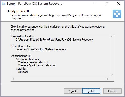 FonePaw installieren